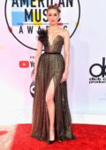Amber Heard attends 2018 American Music Awards (AMA 2018) at Microsoft Theater in Los Angeles