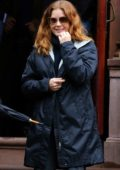 Amy Adams spotted while filming 'Woman In The Window' in New York City