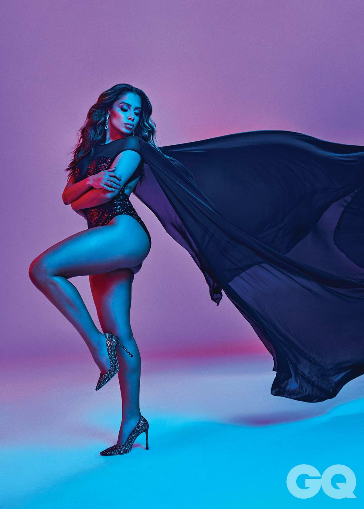 Anitta features in GQ Magazine, Mexico - October 2018