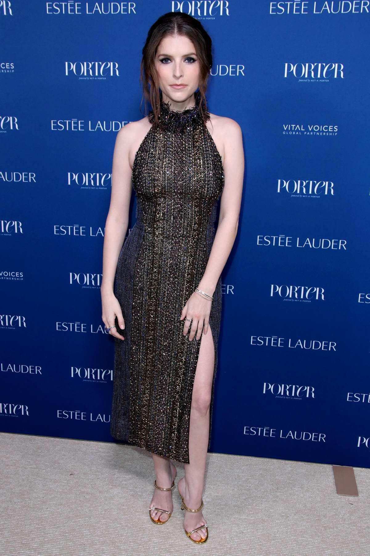 Anna Kendrick attends Porter's 3rd Annual Incredible Women Gala in Los Angeles