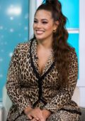 Ashley Graham makes an appearance on 'Today' show in New York City