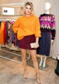 Ashley James attends the launch of the H! By Henry Holland AW18 Knit Happens Collection at Debenhams in London, UK