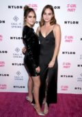 Bailee Madison and Liana Liberato attends NYLON's Annual It Girl Party at the Ace Hotel in Los Angeles