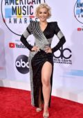 Bebe Rexha attends 2018 American Music Awards (AMA 2018) at Microsoft Theater in Los Angeles