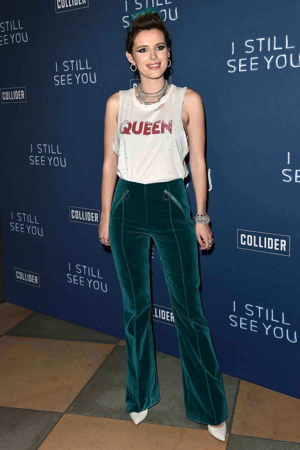 Bella Thorne attends the special screening of 'I Still See You' in Sherman Oaks, Los Angeles