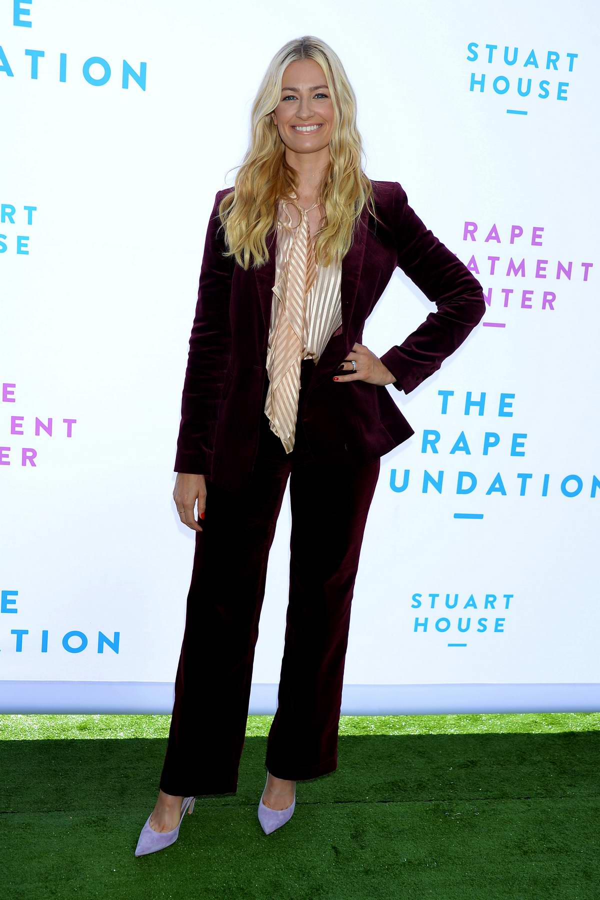 Beth Behrs attends The Rape Foundation's Annual Brunch in Beverly Hills, Los Angeles