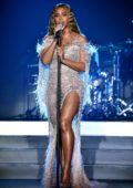 Beyonce performs onstage at the City Of Hope Gala 2018 at The Barker Hanger in Santa Monica, California