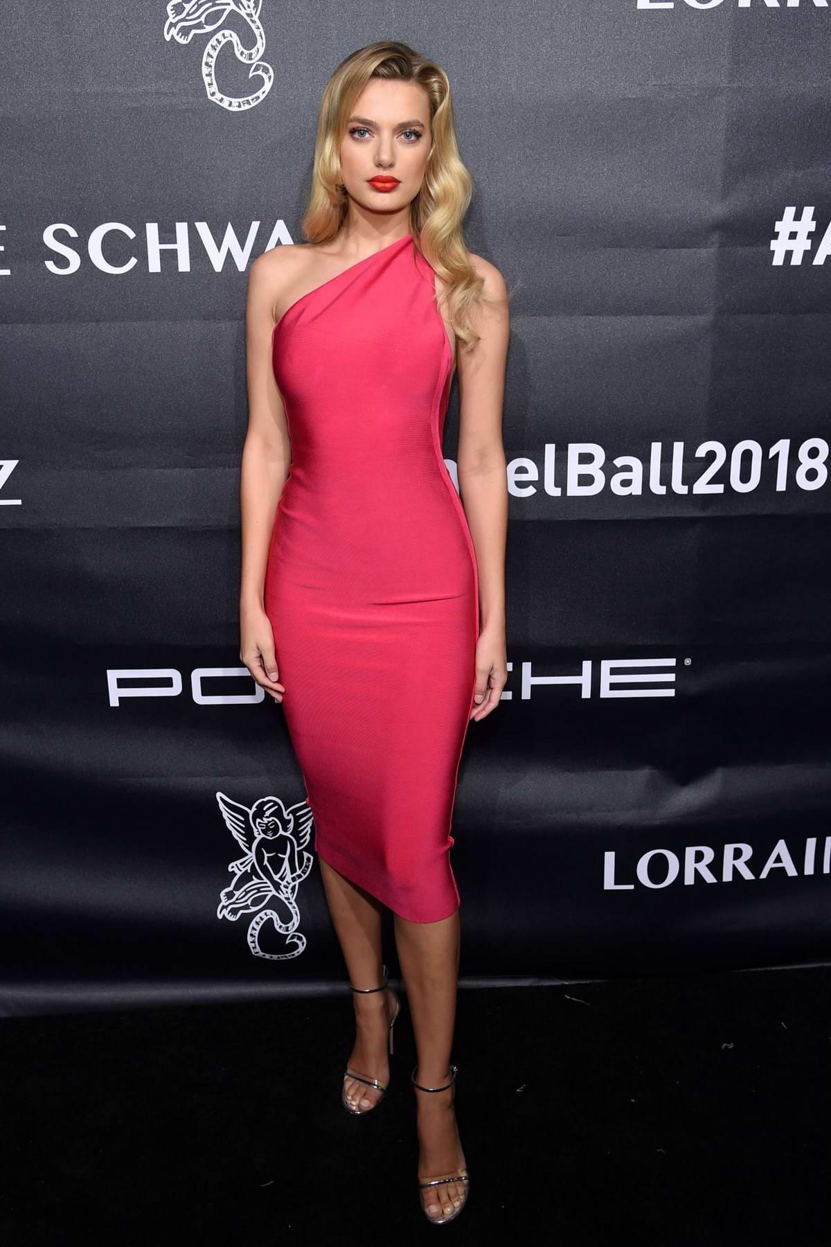 Bregje Heinen attends the Angel Ball 2018 in New York City
