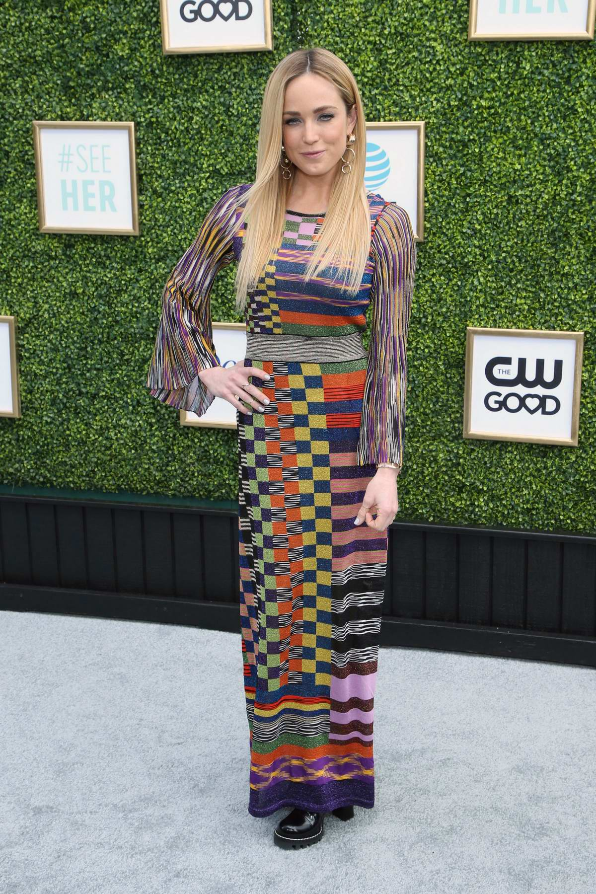 Caity Lotz attends The CW Networks Fall Launch Event in Los Angeles