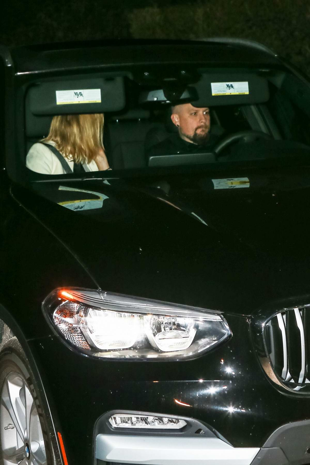 Cameron Diaz and Benji Madden spotted as they leave Gwyneth Paltrow's wedding party in New York