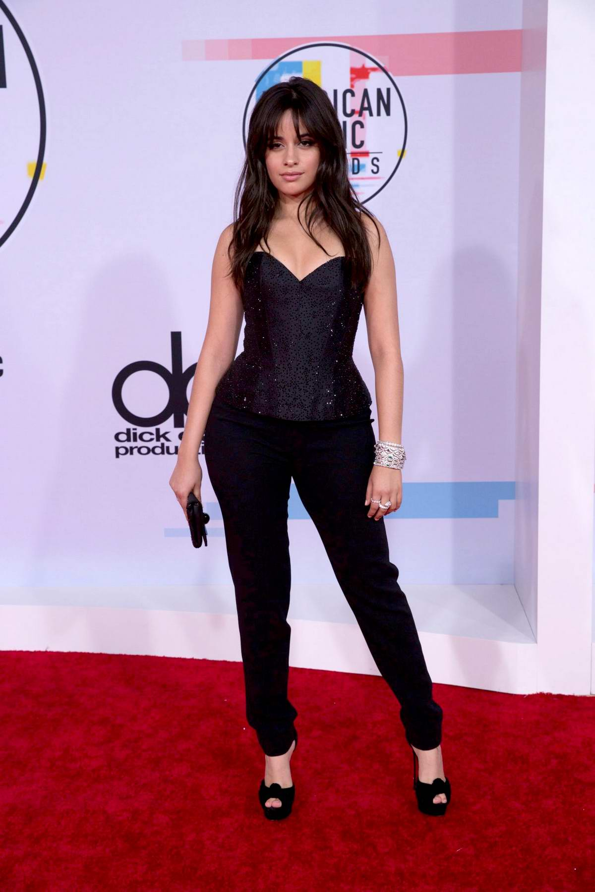 Camila Cabello attends 2018 American Music Awards (AMA 2018) at Microsoft Theater in Los Angeles
