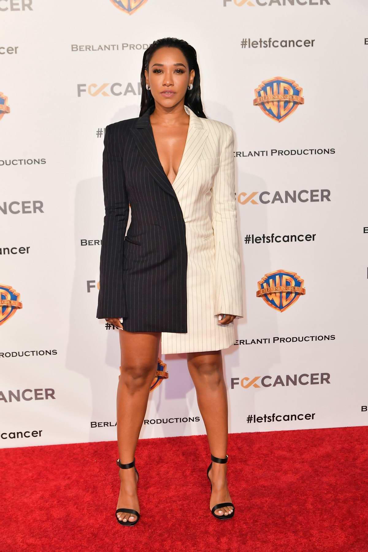 Candice Patton attends Fck Cancer's 1st Annual Barbara Berlanti Heroes Gala in Burbank, California