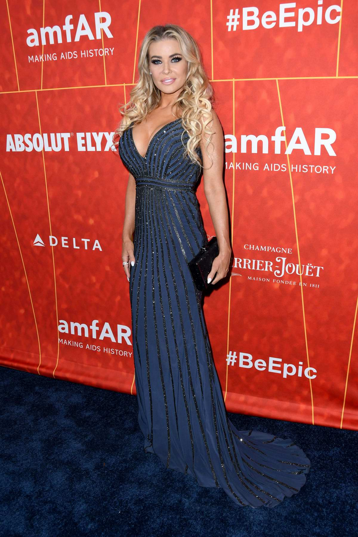 Carmen Electra attends 2018 amfAR Inspiration Gala at Wallis Annenberg Center for the Performing Arts in Beverly Hills, Los Angeles