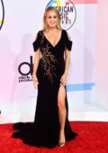 Carrie Underwood attends 2018 American Music Awards (AMA 2018) at Microsoft Theater in Los Angeles