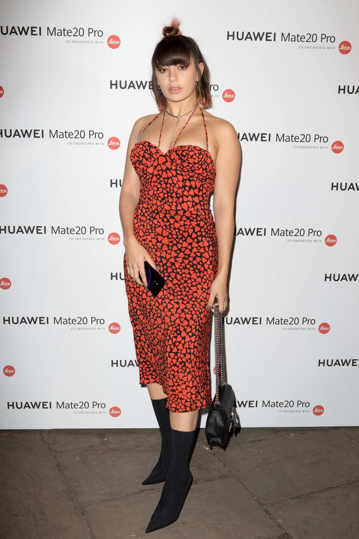 Charli XCX attends Huawei VIP Launch in London, UK