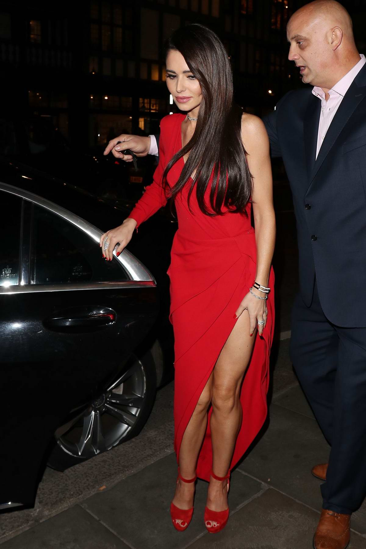 Cheryl Tweedy arrives at 'We are most Amused and Amazed - Comedy Gala' in London, UK