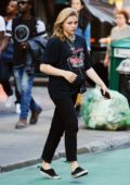 Chloe Grace Moretz opts for a casual look while out in SoHo, New York City