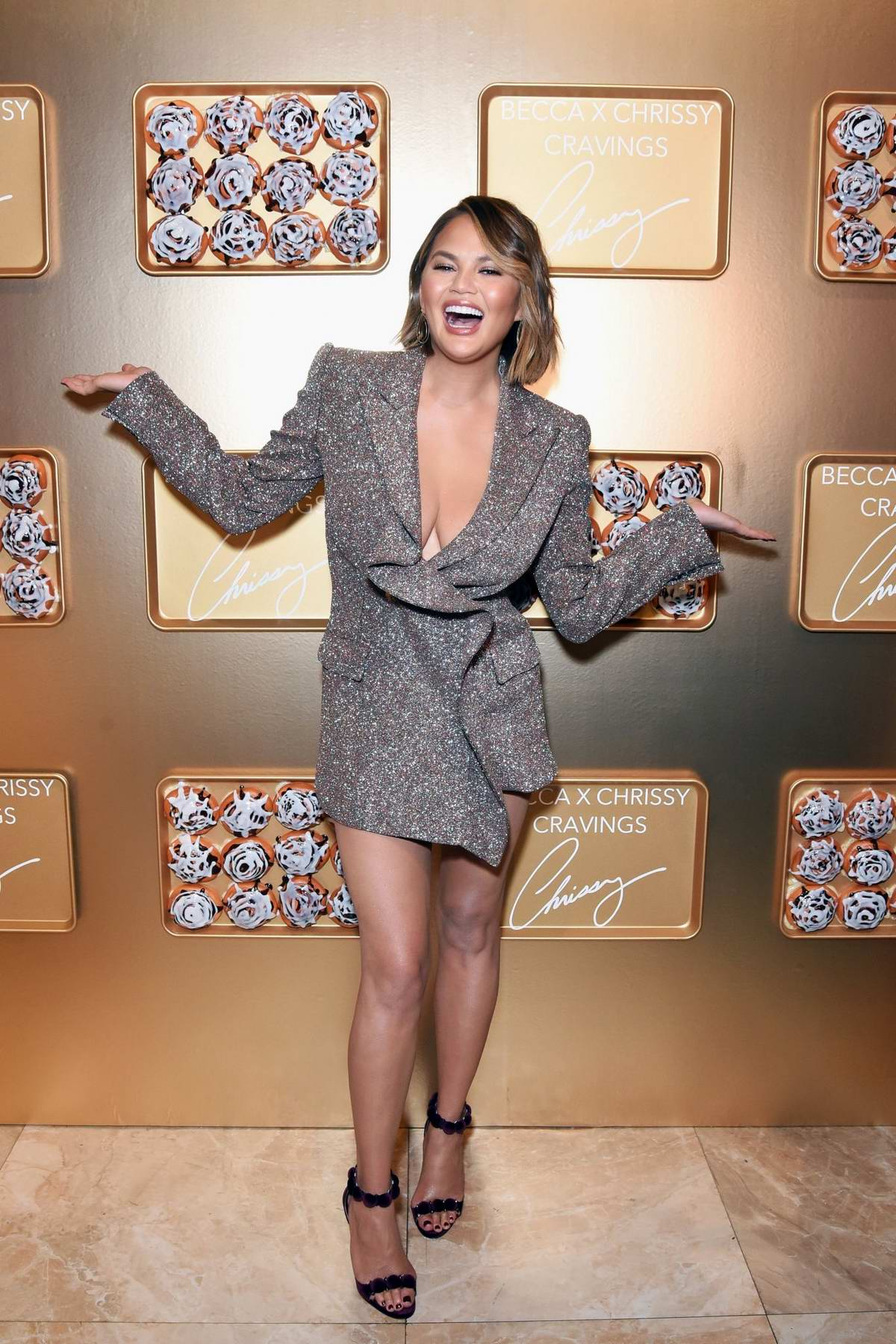 Chrissy Teigen attends SEPHORiA: House of Beauty in Los Angeles