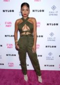 Christina Milian attends NYLON's Annual It Girl Party at the Ace Hotel in Los Angeles