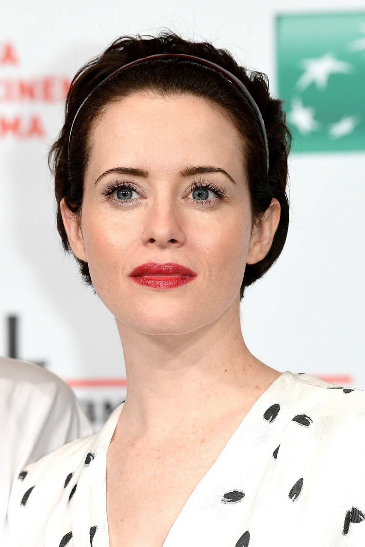 Claire Foy attends 'The Girl In The Spider's Web' photocall during the 13th Rome Film Fest at Auditorium Parco Della Musica in Rome, Italy