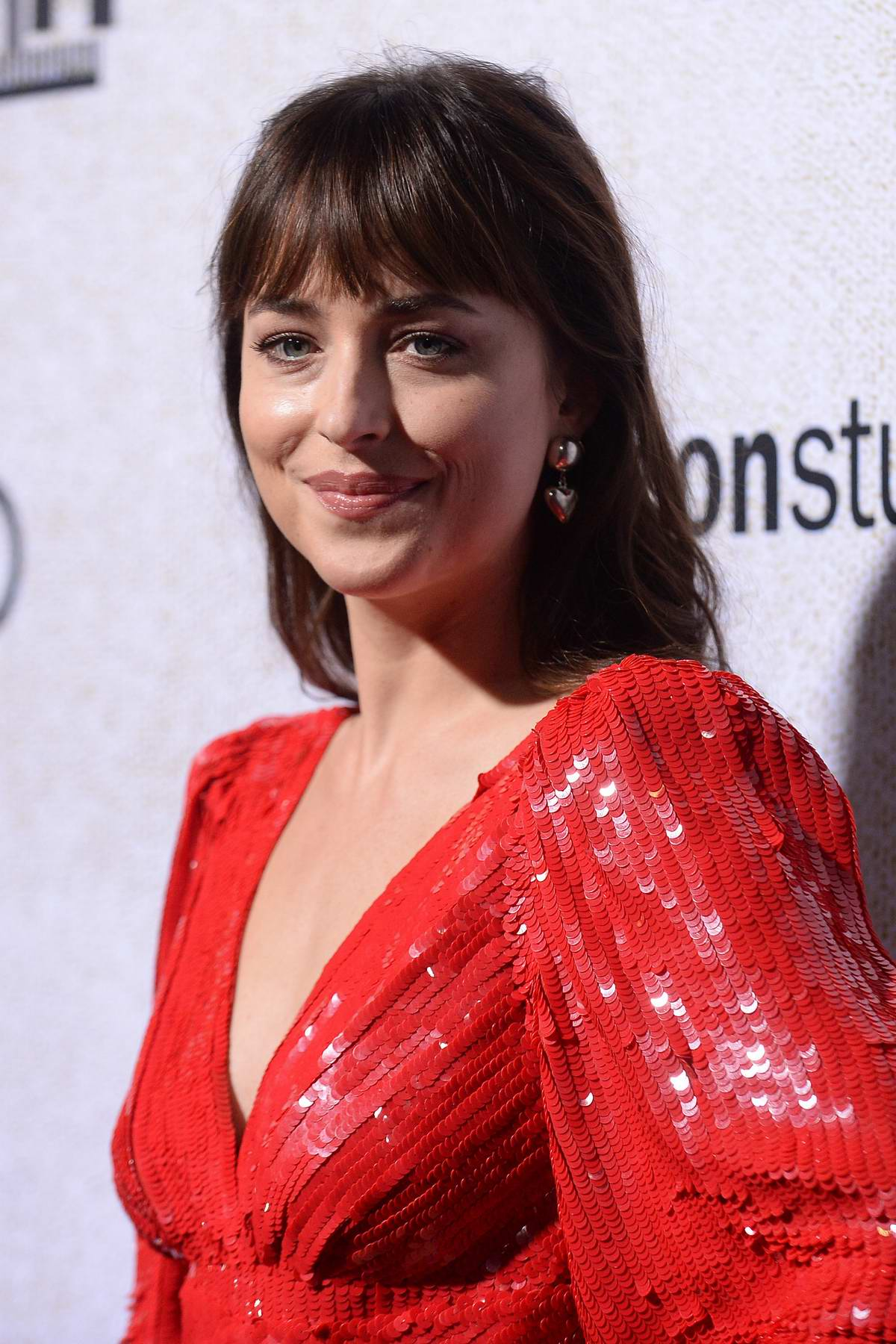 Dakota Johnson attends the Hollywood Premiere of 'Suspiria' in Los Angeles