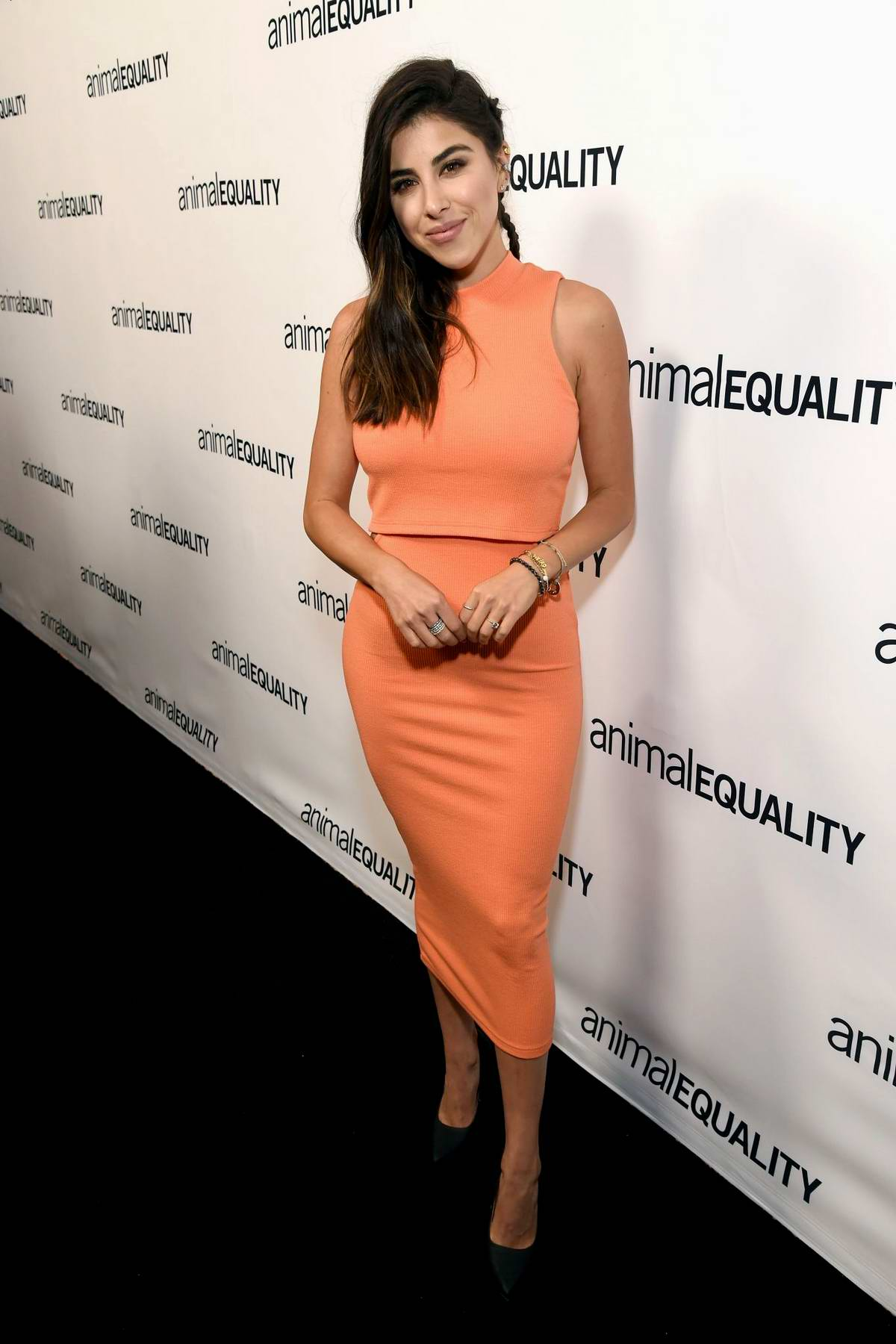 Daniella Monet attends the Animal Equality's Inspiring Global Action Los Angeles Gala in Beverly Hills, California