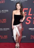 Danielle Campbell attends the New York premiere of 'Tell Me A Story' at Metrograph in New York City
