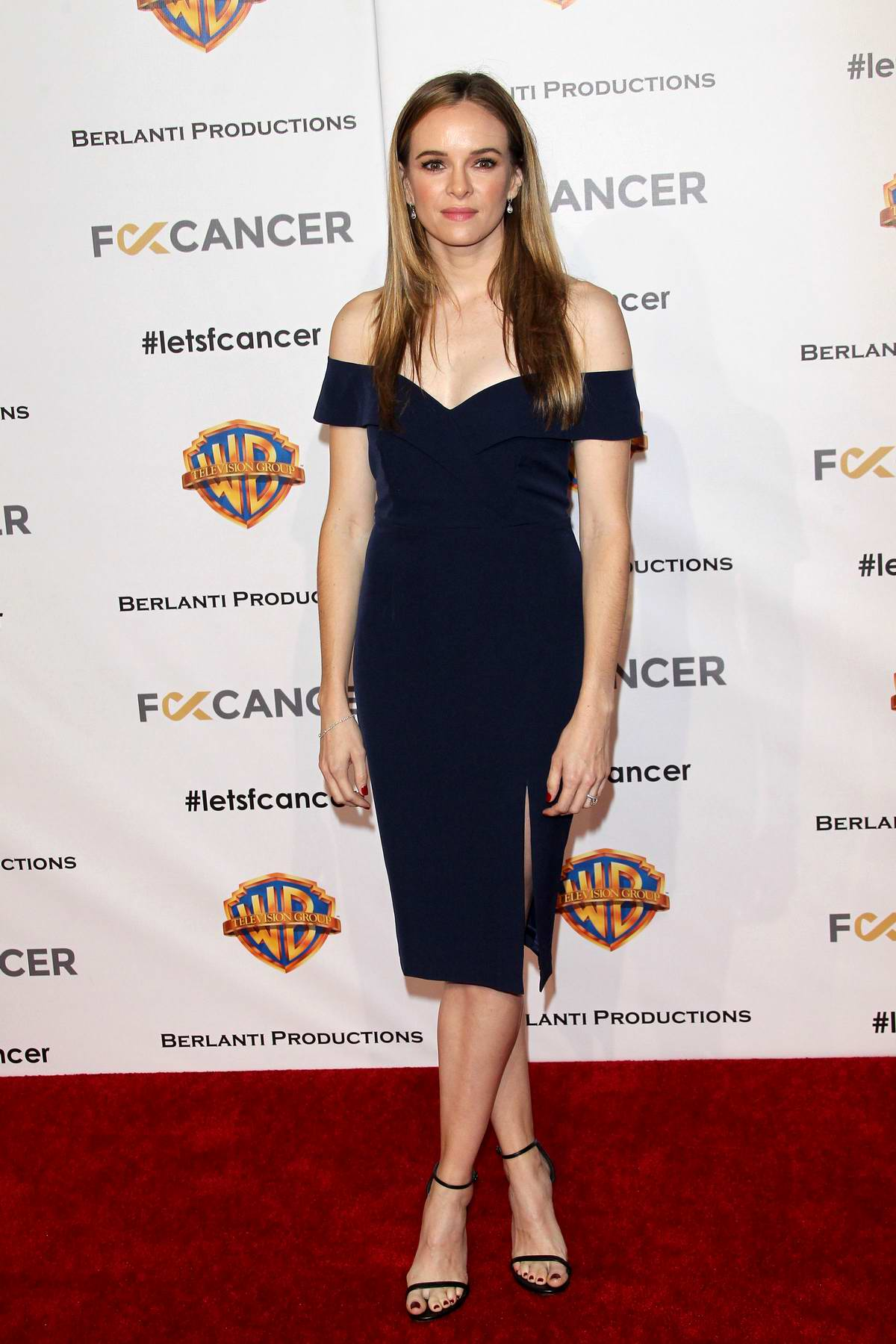 Danielle Panabaker attends Fck Cancer's 1st Annual Barbara Berlanti Heroes Gala in Burbank, California