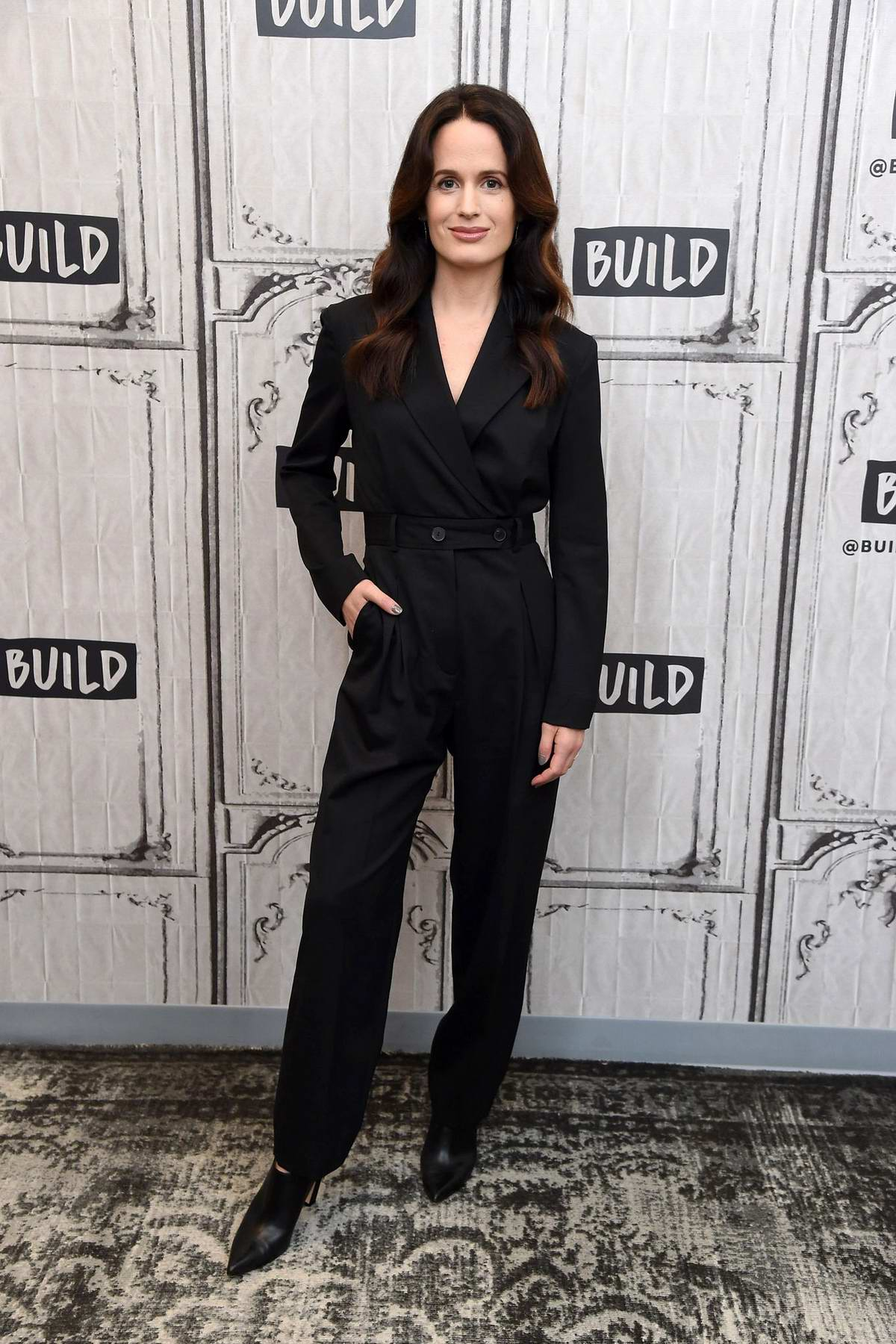 Elizabeth Reaser attends Build Series to discuss TV series 'The Haunting Of Hill House' in New York City