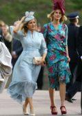 Ellie Goulding and Caspar Jopling attends the wedding of Princess Eugenie of York to Jack Brooksbank at St George's Chapel in Windsor, UK
