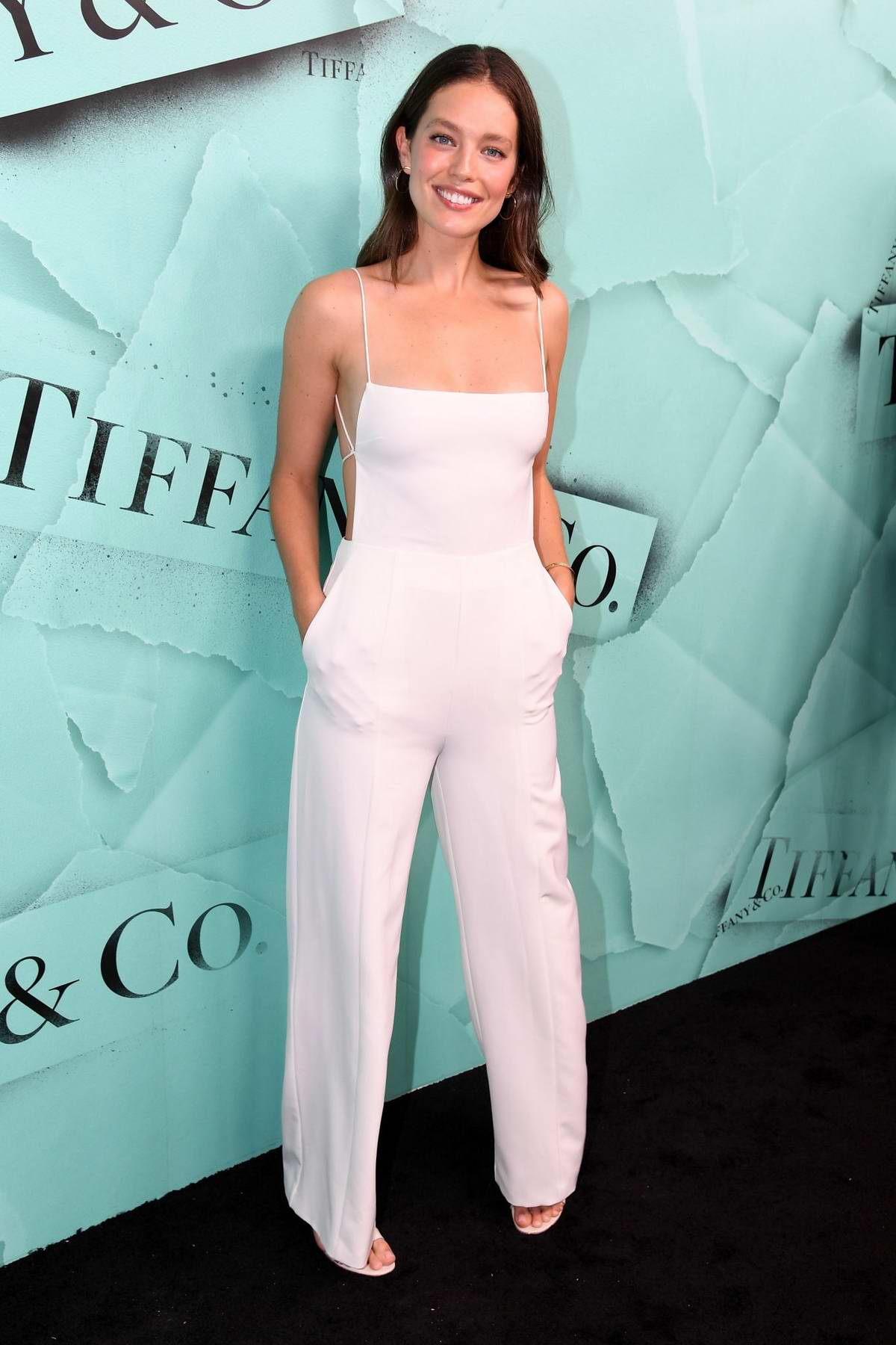 Emily DiDonato attends Tiffany & Co. Celebrates 2018 Tiffany Blue Book Collection in New York City