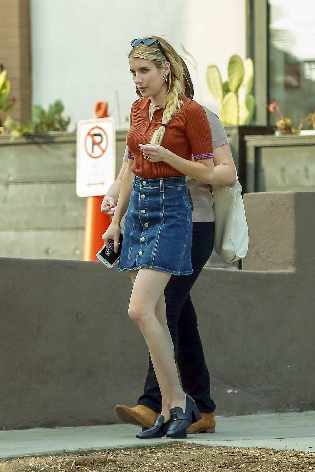 photo Emma roberts cute street style