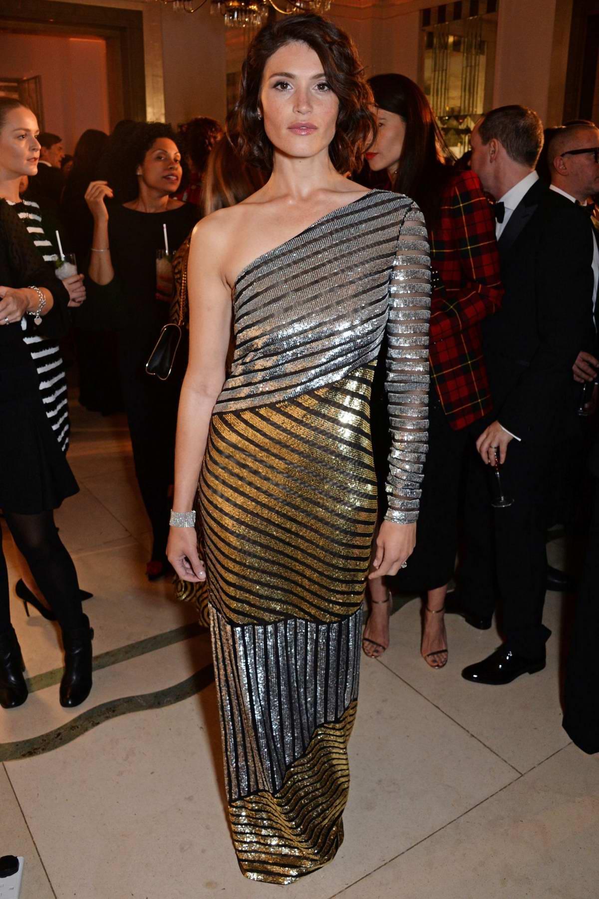 Gemma Arterton attends the Harper's Bazaar Women of the Year Awards 2018 in London, UK