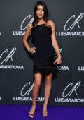 Georgia Fowler attends the CR Fashion Book x Luisasaviaroma photocall during Paris Fashion Week in Paris, France