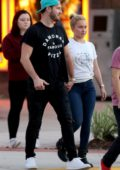 Hayden Panettiere and Brian Hickerson enjoys a day out with Hayden's family in St. Augustine, Florida