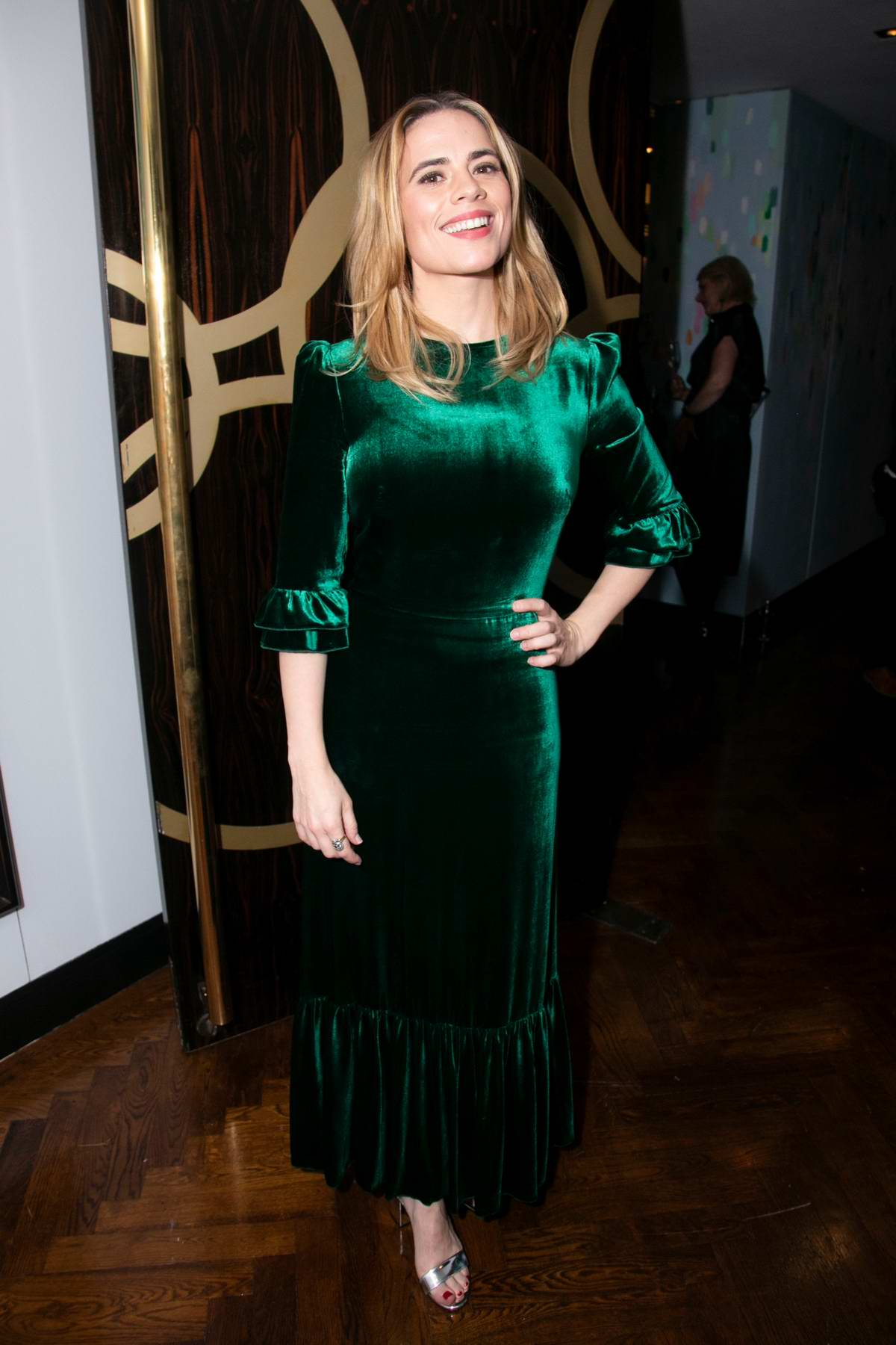 Hayley Atwell attends 'Measure For Measure' after party in London, UK