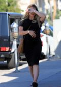 Hilary Duff makes a trip to her favorite coffee shop in Los Angeles