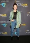 Holland Roden attends National Geographic Photo Ark at Annenberg Space For Photography in Century City, California