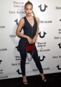 Jasmine Sanders attends the True Religion x Bella Hadid event at Poppy in West Hollywood, Los Angeles