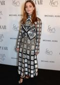 Jenna Coleman attends the Harper's Bazaar Women of the Year Awards 2018 in London, UK