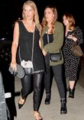 Jessica Alba and her friends arrives at the Drake and Migos concert in Los Angeles
