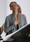 Jessica Alba looks exhausted as she heads back to her car after a spin-cycle class in Los Angeles