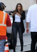 Jessica Alba spotted on the set of L.A.'s Finest in Los Angeles