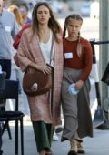 Jessica Alba steps out with her daughter Honor Warren in Brentwood, Los Angeles