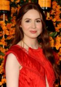 Karen Gillan attends the Ninth Annual Veuve Clicquot Polo Classic in Los Angeles