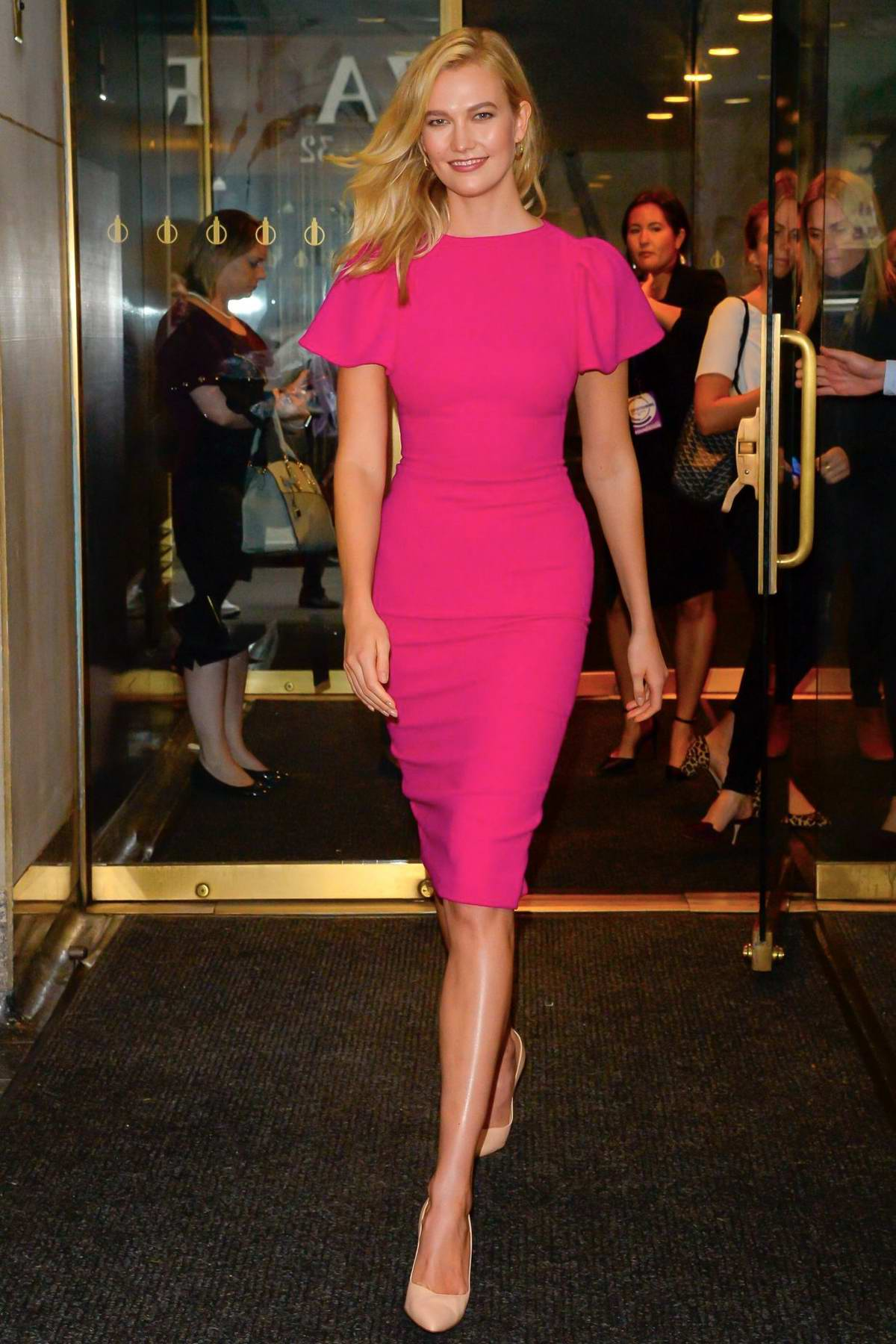 Karlie Kloss attends NBC's 'Today' Celebrates The International Day Of The Girl in New York City