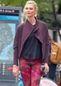 57fcb75d999c1 Karlie Kloss sports a colorful Adidas workout gear while out in New York  City