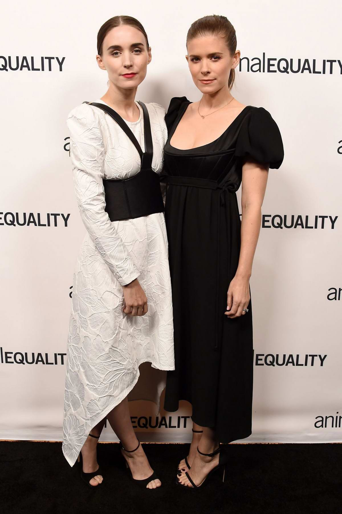 Kate and Rooney Mara attends the Animal Equality's Inspiring Global Action Los Angeles Gala in Beverly Hills, California