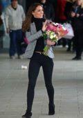 Kate Middleton visits the Basildon Sporting Village in Basildon, Essex, UK