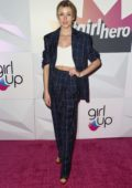 Katherine McNamara attends Girl Up's Inaugural #GirlHero Awards Luncheon at SLS Hotel in Beverly Hills, Los Angeles